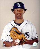 Fernando Perez LIMITED STOCK Tampa Bay Devil Rays 8X10 Photo
