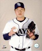 Jae Kuk Ryu LIMITED STOCK Tampa Bay Devil Rays 8X10 Photo