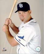 Mike DiFelice LIMITED STOCK Tampa Bay Devil Rays 8X10 Photo