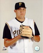 Romulo Sanchez LIMITED STOCK Pittsburgh Pirates 8X10 Photo