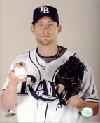 Mitch Talbot LIMITED STOCK Tampa Bay Devil Rays 8X10 Photo