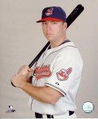 Michael Aubrey LIMITED STOCK Cleveland Indians 8X10 Photo
