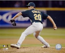 Huston Street LIMITED STOCK Oakland A's 8X10 Photo