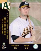 Daric Barton LIMITED STOCK Oakland A's 8X10 Photo