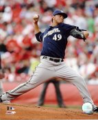 Yovani Gallardo LIMITED STOCK Milwaukee Brewers 8x10 Photo