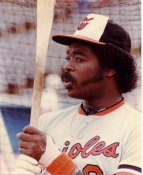 Eddie Murray SUPER SALE Color Faded Baltimore Orioles 8X10 Photo