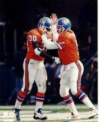 John Elway & Terrell Davis LIMITED STOCK Denver Broncos 8X10 Photo