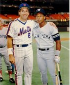 Gary Carter & Rickey Henderson LIMITED STOCK New York Mets 8X10 Photo