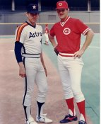 Jim Kaat & Nolan Ryan LIMITED STOCK Cincinnati Reds 8X10 Photo