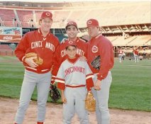 John Franco, Ron Robinson, Norm Charlton LIMITED STOCK Cincinnati Reds 8X10 Photo