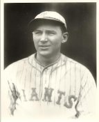 Freddie Lindstrom LIMITED STOCK Batted 300+ in 6 Straight Seasons New York Giants 8x10 Photo