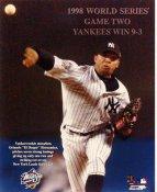 "Orlando Hernandez LIMITED STOCK ""El Duke"" 1998 World Series New York Yankees 8X10 Photo"