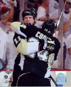 Jordan Staal & Matt Cooke LIMITED STOCK Game 6 Stanley Cup Finals 2009 Pittsburgh Penguins 8x10 Photo