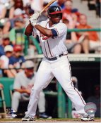Justin Upton Atlanta Braves SATIN 8X10 Photo
