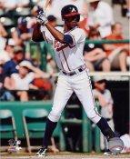 BJ Upton Atlanta Braves SATIN 8X10 Photo