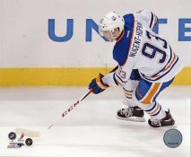 Ryan Nugent-Hopkins Edmonton Oilers SATIN 8x10 Photo