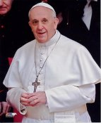 Pope Francis SATIN 8x10 Photo