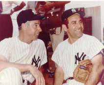 Joe DiMaggio & Yogi Berra LIMITED STOCK New York Yankees 8X10 Photo