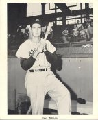 Ted Williams Boston Red Sox Original Team Issued Slight Creases 8x10 Photo