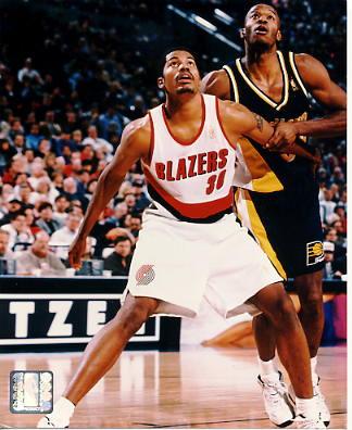 Rasheed Wallace LIMITED STOCK Portland Trail Blazers 8X10 Photo