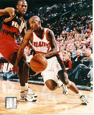 Kenny Anderson LIMITED STOCK Portland Trail Blazers 8X10 Photo