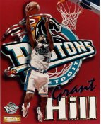 Grant Hill LIMITED STOCK Detroit Pistons 8X10 Photo