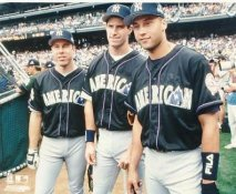 Scott Brosius, Paul O'Neill & Derek Jeter LIMITED STOCK New York Yankees 8X10 Photo