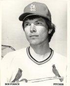 Bob Forsch St. Louis Cardinals Original Team Issued 8X10 Photo