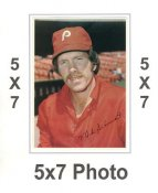 Mike Schmidt 1980 Topps Superstars 5x7 Photo Cards Philadelphia Phillies 5X7 Photo