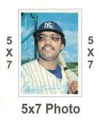 Reggie Jackson 1980 Topps Superstars 5x7 Photo Cards New York Yankees 5X7 Photo
