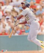 Dave Henderson Oakland Athletics LIMITED STOCK Glossy Card Stock 8X10 Photo