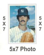 Ron Guidry 1980 Topps Superstars 5x7 Photo Cards New York Yankees 5X7 Photo