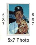 Tommy John 1980 Topps Superstars 5x7 Photo Cards New York Yankees 5X7 Photo