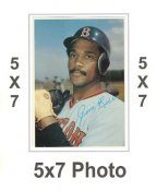 Jim Rice 1980 Topps Superstars 5x7 Photo Cards Boston Red Sox 5X7 Photo