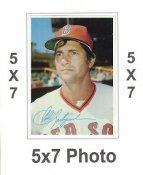 Carl Yastrzemski 1980 Topps Superstars 5x7 Photo Cards Boston Red Sox 5X7 Photo