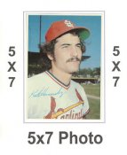 Keith Hernandez 1980 Topps Superstars 5x7 Photo Cards St. Louis Cardinals 5X7 Photo