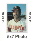 Don Baylor 1980 Topps Superstars 5x7 Photo Cards California Angels 5X7 Photo