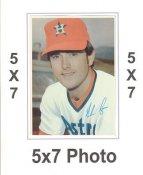 Nolan Ryan 1980 Topps Superstars 5x7 Photo Cards Houston Astros 5X7 Photo