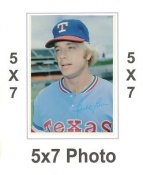 Buddy Bell 1980 Topps Superstars 5x7 Photo Cards Texas Rangers 5X7 Photo