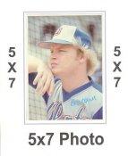 Bob Horner 1980 Topps Superstars 5x7 Photo Cards Atlanta Braves 5X7 Photo