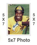 Dave Winfield 1980 Topps Superstars 5x7 Photo Cards San Diego Padres 5X7 Photo