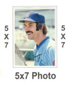 Dave Kingman 1980 Topps Superstars 5x7 Photo Cards Chicago Cubs 5X7 Photo