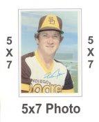 Randy Jones 1980 Topps Superstars 5x7 Photo Cards San Diego Padres 5X7 Photo