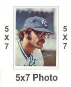 Darrell Porter 1980 Topps Superstars 5x7 Photo Cards KC Royals 5X7 Photo