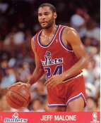 Jeff Malone LIMITED STOCK Washington Bullets 8X10 Photo
