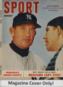 """Allie Reynolds """"MAGAZINE COVER ONLY"""" 1952 ORIGINAL Sport Magazine Cover INCLUDES FREE TOP LOAD HOLDER"""