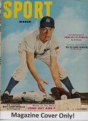 "Gil McDougald ""MAGAZINE COVER ONLY"" 1952 ORIGINAL Sport Magazine Cover INCLUDES FREE TOP LOAD HOLDER"