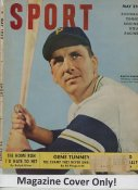 "Ralph Kiner ""MAGAZINE COVER ONLY"" 1950 ORIGINAL Sport Magazine Cover INCLUDES FREE TOP LOAD HOLDER"