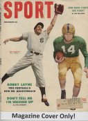 "Phil Rizzuto ""MAGAZINE COVER ONLY"" 1953 ORIGINAL Sport Magazine Cover INCLUDES FREE TOP LOAD HOLDER"