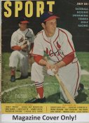 "Stan Musial ""MAGAZINE COVER ONLY"" 1950 ORIGINAL Sport Magazine Cover INCLUDES FREE TOP LOAD HOLDER"
